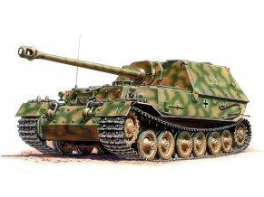 Zvezda - Sd.Kfz.184 Ferdinand, Wargames (WWII) 6195, 1/100