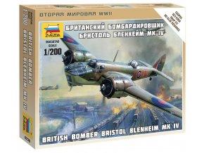Zvezda - Bristol Blenheim Mk.IV, Wargames (WWII) 6230, 1/200