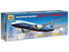 Zvezda - Boeing B787-8 Dreamliner, 1/144, Model Kit 7008