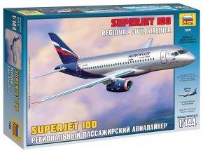 Zvezda - Suchoj Superjet 100, Model Kit 7009, 1/144