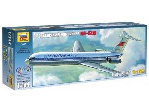 Zvezda - Iljušin Il-62 M, Model Kit 7013, 1/144