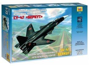 Zvezda - Suchoj Su-47 ''Berkut'', Model Kit 7215, 1/72