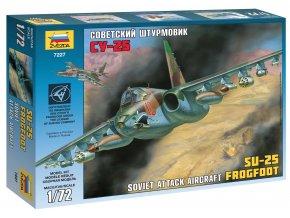 Zvezda - Suchoj Su-25 ''Frogfoot'', Model Kit 7227, 1/72