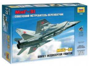 Zvezda - Mikojan-Gurjevič MiG-31 ''Foxhound'', Model Kit 7229, 1/72