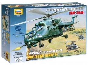 Zvezda - Mil Mi-35M ''Hind E'', Model Kit 7276, 1/72