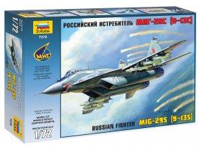 Zvezda - Mikojan-Gurevič MiG-29 ''Fulcrum'', Model Kit 7278, 1/72