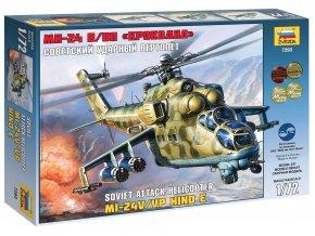 Zvezda - Mil Mi-24V/VP ''Hind E'', Model Kit 7293, 1/72