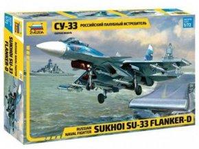 Zvezda - Suchoj Su-33 ''Flanker-D'', Model Kit 7297, 1/72