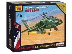 Zvezda - Hughes AH-64 Apache, Wargames (HW) 7408, 1/144
