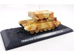 Zvezda - raketový systém TOS-1A, ruská armáda, 1/72