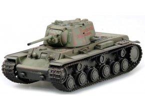 Easy Model - KV-1, sovětská armáda, východní fronta, 1942, 1/72