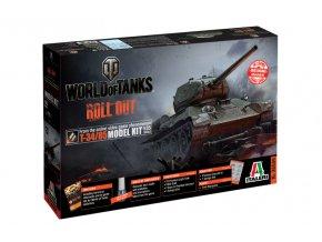 Italeri - T-34/85, Model Kit World of Tanks 36509, 1/35