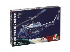 Italeri - Agusta-Bell AB 205, Carabinieri, 1/48, Model Kit 2739
