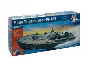 Italeri - americký torpédový člun PT-109, 1/35, Model Kit 5613