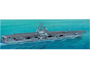 Italeri - letadlová loď USS Ronald Reagan (CVN-76), US NAVY, 2003, Model Kit 5533, 1/720