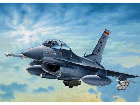 Italeri - General Dynamics F-16 C/D Night Falcon, Model Kit 0188, 1/72