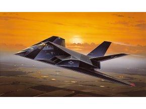 Italeri - Lockheed F-117 A Nighthawk, Model Kit 0189, 1/72