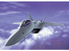 Italeri - Lockheed Martin/Boeing F-22A Raptor, Model Kit 1207, 1/72