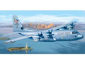 Italeri - Lockheed C-130 J Hercules, Model Kit PRM edice 1255, 1/72