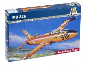 Italeri - Aermacchi MB-326, Model Kit 1308, 1/72