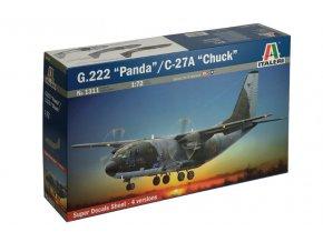 Italeri - Aeritalia G.222 Panda / C-27A Chuck, 1/72, Model Kit 1311