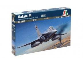 Italeri - Dassault Rafale M, operace Exterieures, 2011, Model Kit 1319, 1/72