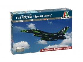 "Italeri - General Dynamics F-16 ADF/AM Fighting Falcon, ""Special colors"", Model Kit 1337, 1/72"