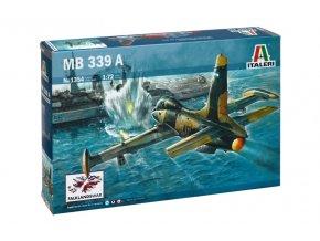 Italeri - Aermacchi MB-339 A, Model Kit 1354, 1/72