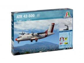 Italeri - turbovrtulový dopravní letoun ATR 42, 1/144, Model Kit 1801