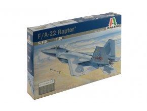 Italeri - Lockheed Martin/Boeing F-22 Raptor, Model Kit 0850, 1/48