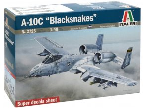 """Italeri - Fairchild A-10 C Thunderbolt II, """"Blacksnakes"""", Model Kit 2725, 1/48"""