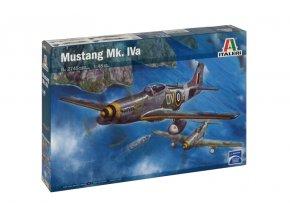 Italeri - North American P-51 Mustang / Mustang Mk.IVa, Model Kit 2745, 1/48