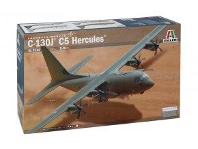 Italeri - Lockheed C-130J C5 Hercules, Model Kit 2746, 1/48