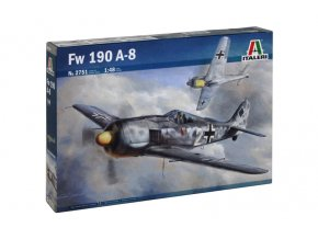 Italeri - Focke-Wulf Fw-190 A-5, Model Kit 2751, 1/48