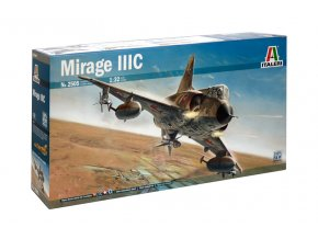 Italeri - Dassault Mirage III, Model Kit 2505, 1/32