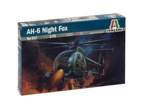 Italeri - Hughes AH-6 Night Fox, Model Kit 0017, 1/72