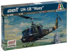 Italeri - Bell UH-1B Iroquois / Huey, Model Kit 0040, 1/72