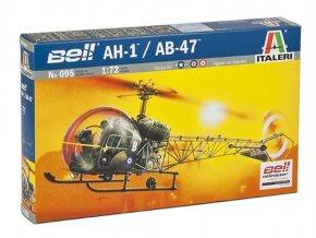 Italeri - Bell 47 / H-13 Sioux, Model Kit 0095, 1/72