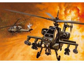 Italeri - Hughes AH-64A Apache, Model Kit 0159, 1/72