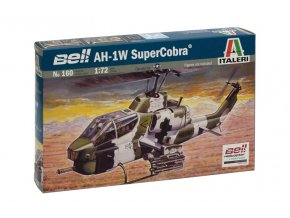 Italeri - Bell AH-1W SuperCobra, Model Kit 0160, 1/72