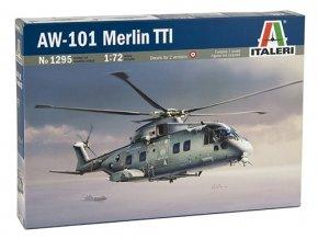 Italeri - AgustaWestland AW101 Merlin TTI, 1/72, Model Kit 1295