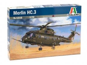 Italeri - AgustaWestland AW101 / Merlin HC.3, 1/72, Model Kit 1316