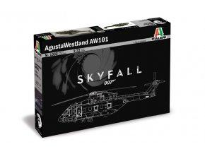 Italeri - Agusta-Westland AW-101 Skyfall, 1/72, Model Kit 1332