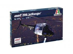 Italeri - Bell 206 Jetranger, 1/72, Model Kit 1372