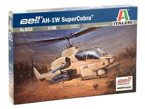 Italeri - Bell AH-1W SuperCobra, Model Kit 0833, 1/48