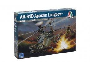 Italeri - Hughes AH-64D Apache Longbow, Model Kit 0863, 1/48