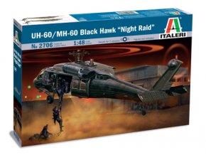 """Italeri - Sikorsky UH-60/MH-60 Black Hawk, """"NIGHT RAID"""", Model Kit 2706, 1/48"""