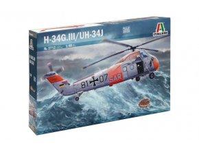 Italeri - Sikorsky H-34 J, Model Kit 2712, 1/48