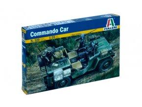 Italeri - Jeep Willys MB ''Commando Car'', Model Kit 0320, 1/35