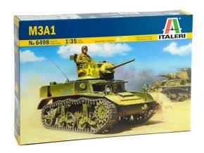 Italeri - M3A1 Stuart, Model Kit 6498, 1/35